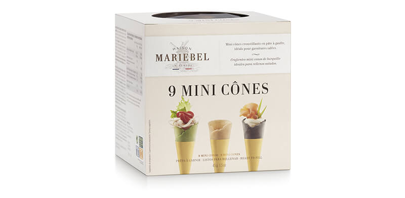 9 mini cônes mariebel