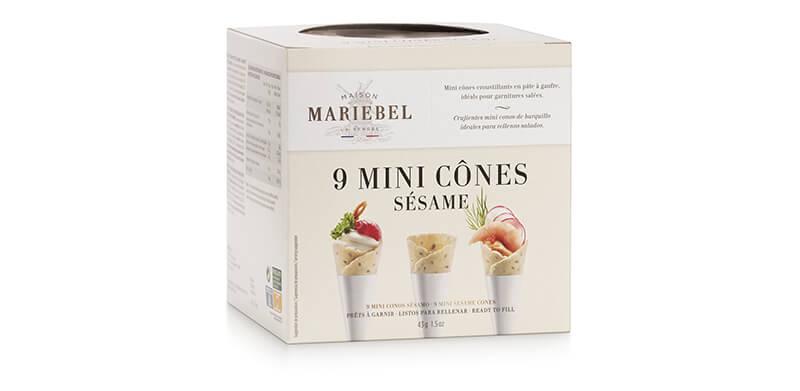 9 mini cônes sésame mariebel