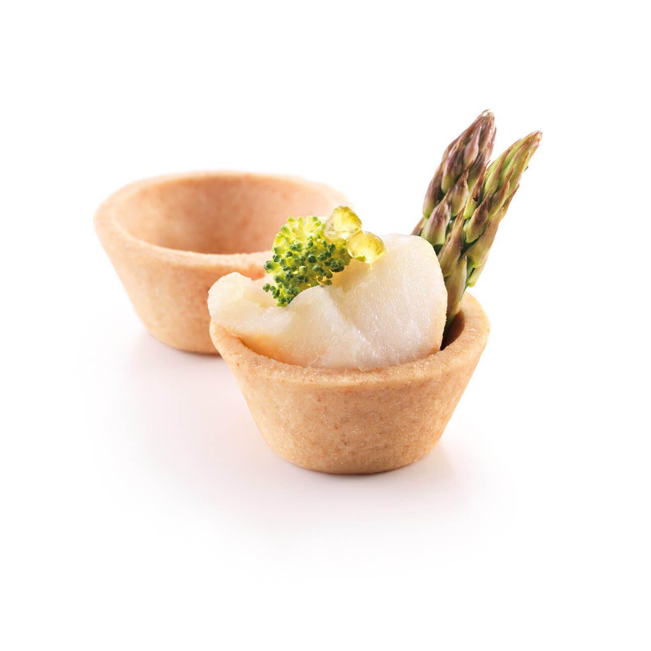 mini tartelettes cones